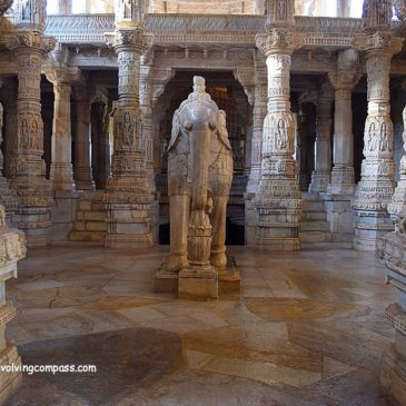 Jain temple Ranakpur – a magnificence of spiritual serenity and artistic grace