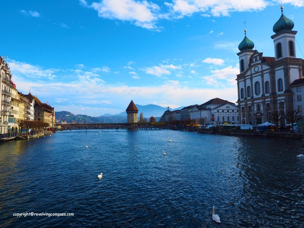 Free lucerne city walking tour