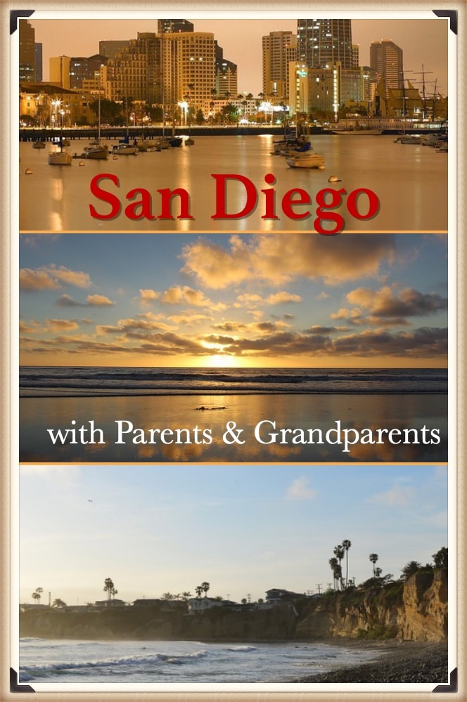 San Diego | Perfect destination to visit with parent and grandparent | where to go with parent | things to do in San Diego for elderly
