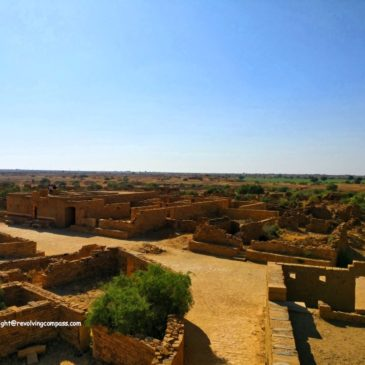 The haunted village Kuldhara near Jaisalmer