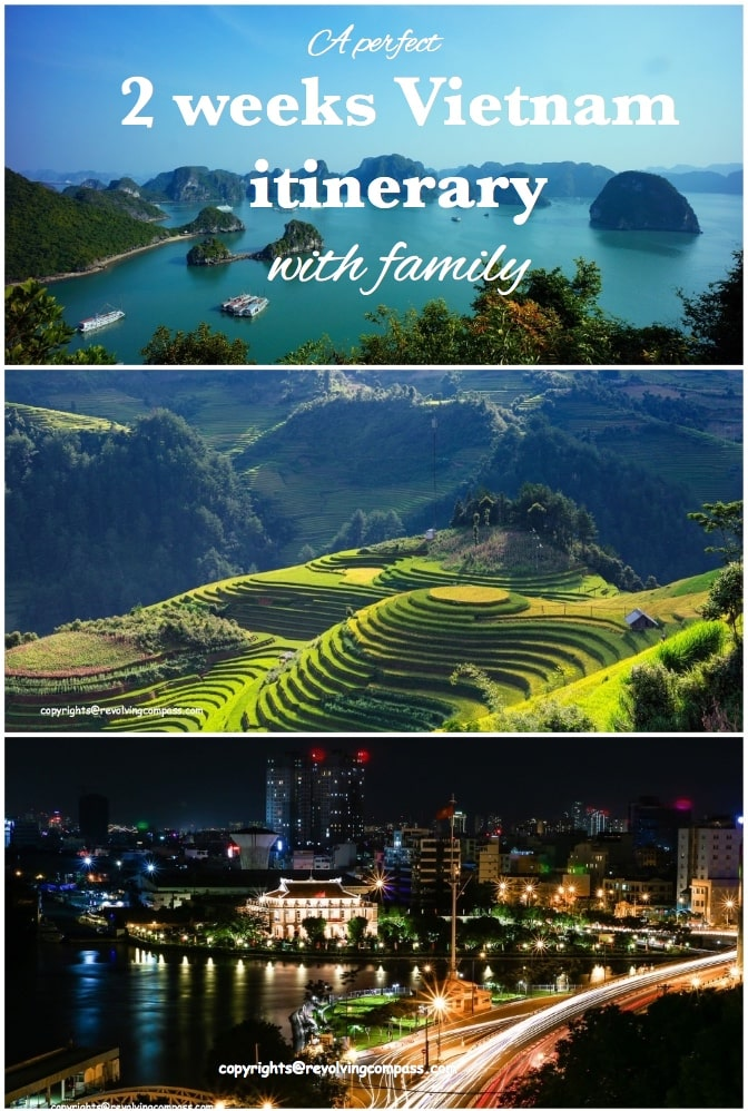 2 weeks Vietnam Itinerary with family | 10% off Vietnam VISA | Vietnam with kids | Vietnam VISA