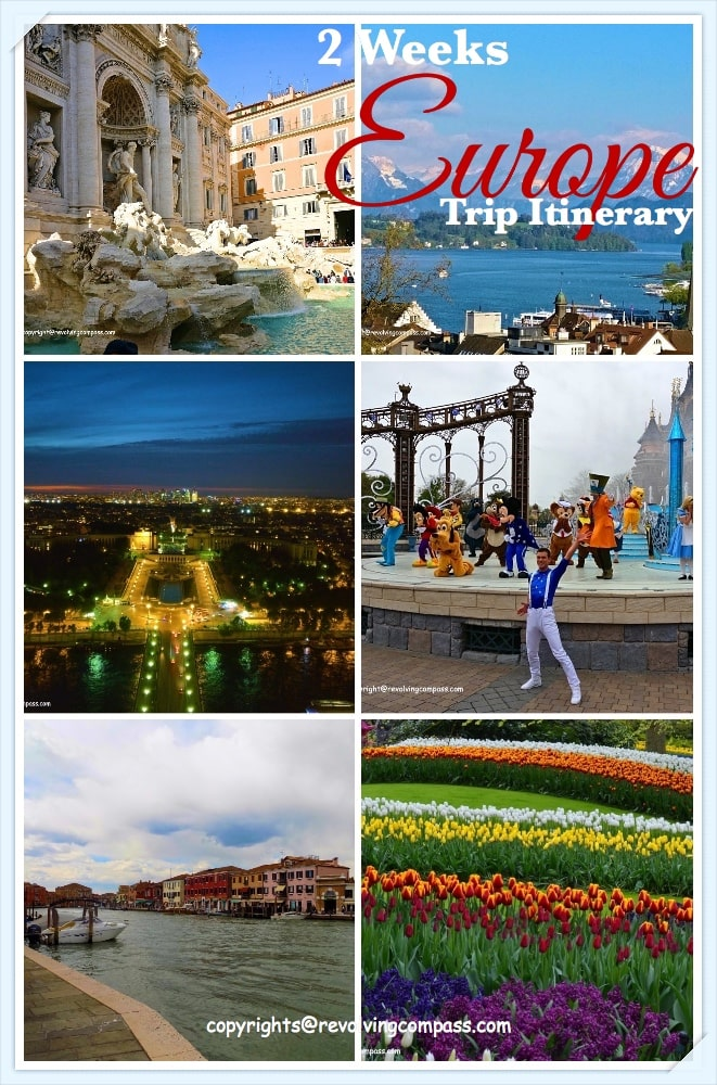 2 weeks Europe trip Itinerary with kids | Highlights of Europe | Italy | Switzerland | Paris | Amsterdam| Rome | Florence | Pisa | Venice | Hop on hop off trips | Bern | Lucerne | Interlaken | Grindelwald | Mount Titlis | Tuscany | Snow